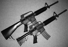 AR-15 assault rifles are now legal for purchase  ()