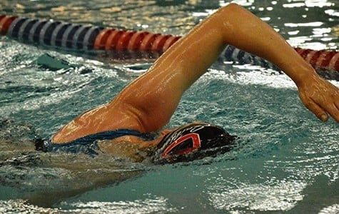 Swim team stays committed through rough waters