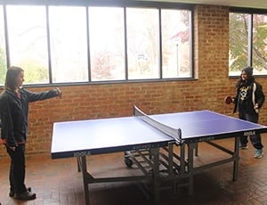 Table tennis coming to Guilford?