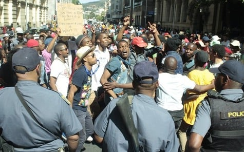 South African students protest rising tuition, inequality