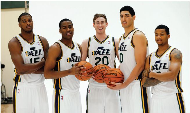 The Utah Jazz is a basketball team based in Salt Lake City, Utah and is known as the most culturally diverse team in the NBA