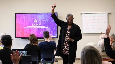 Associate Dean, Barbara Lawrence speaks on education in prisons