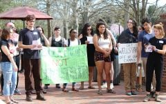Students speak out, ask for administrative support