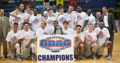 Quaker Men's Basketball team wins 2017 ODAC tournament