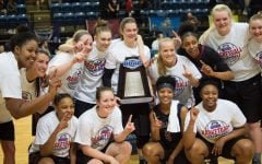 Quaker Women's Basketball team wins 2017 ODAC tournament