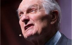 Final Bryan Series speaker, Alan Alda, amazes crowds