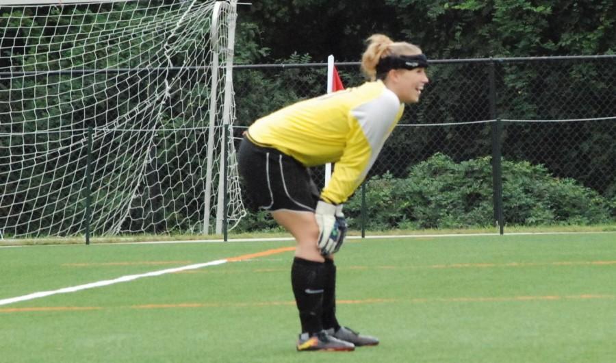 Goalkeeper  Amy Baker (Zach Morgan)