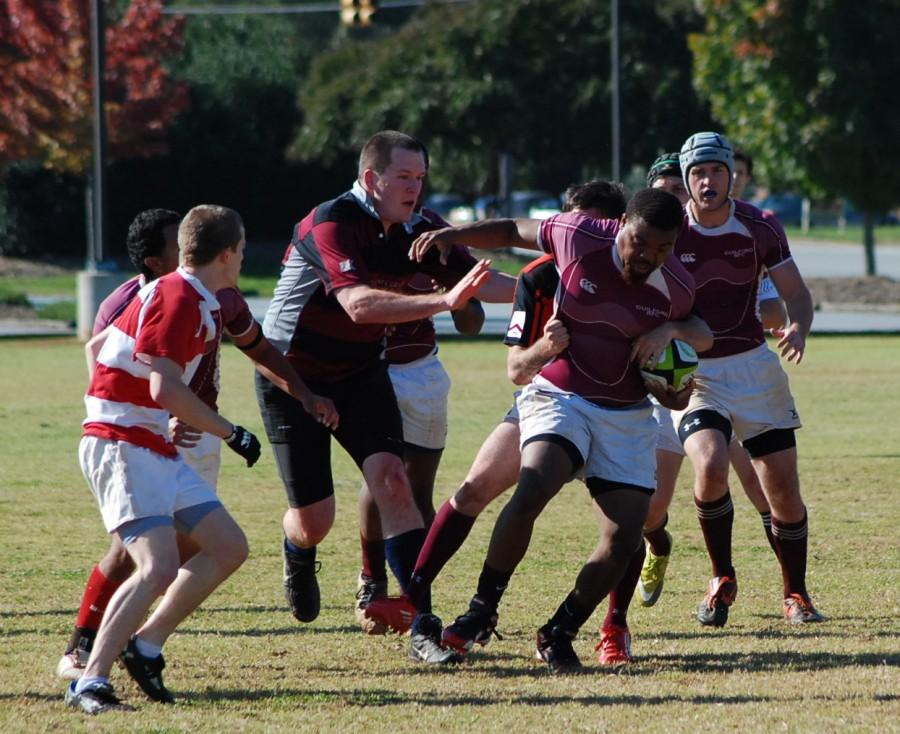 Men's rugby team gets down and dirty as season begins