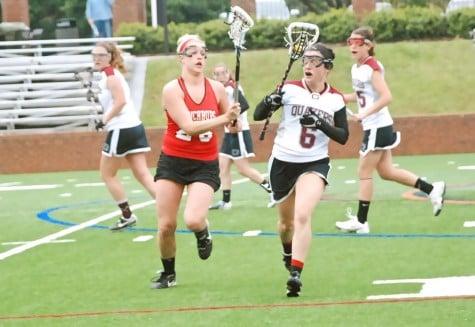 Senior leadership the backbone of women's lacrosse team