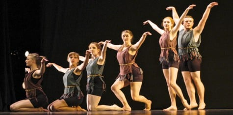 Creativity springs forth at end-of-year events: Spring dance 2012 shows that hard work pays off in the end