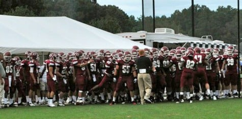 Football team takes advantage of open tryouts