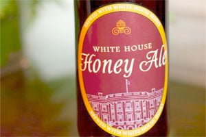 White House produces a hit beverage: beer