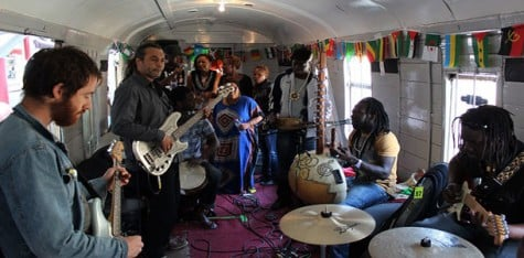 1970s train converted into home for artists