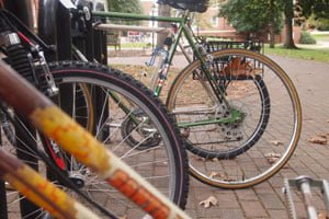 Widespread bicycle tire slashing angers community