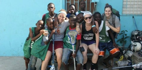 Women's lacrosse players take love of the game to Jamaica