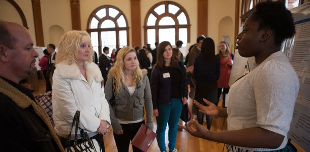 Sixth annual Guilford Undergraduate Symposium displays student gusto