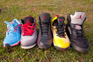Sneaker feens: Is it the shoes? Gotta be the shoes