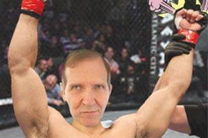GOOFORDIAN: Pugnacious professor Jeff Jeske prevails in preliminary MMA bout
