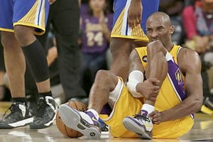 Kobe Bryant's Achilles heel injury hamstrings Lakers