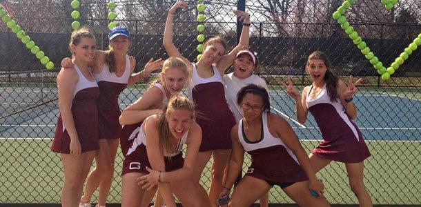 Game, set, match: tennis ladies serving up the season's mishaps, successes