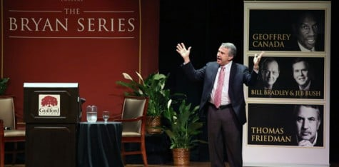 Thomas Friedman closes Bryan Series with controversial speech