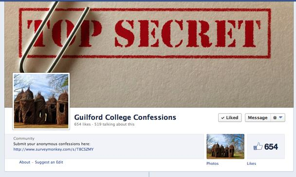 Guilford College Confessions: The danger of anonymity