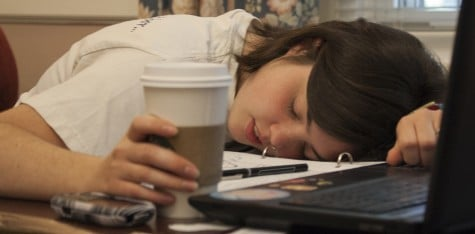 Sleep loss slams students