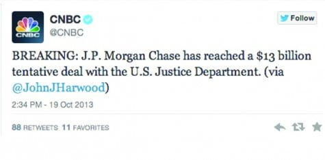 JPMorgan Chase is scapegoat for others' crime