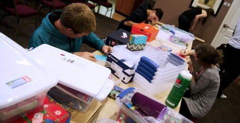 FCA organizes donations for children