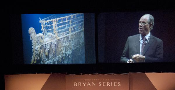 Bryan series: Ballard speaks on oceanography