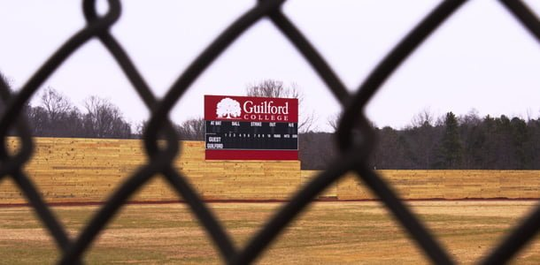 Donations allow for new wooden baseball fence