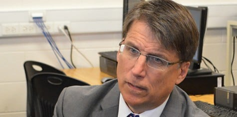 McCrory in hot water over Duke's spill