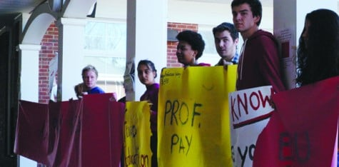Administrative bloat sparks  student protest