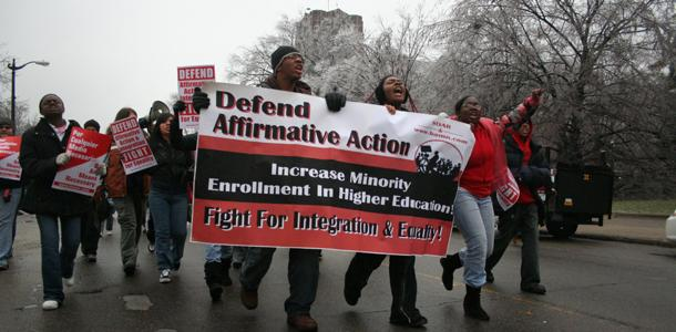 UC school system debates the use of affirmative action