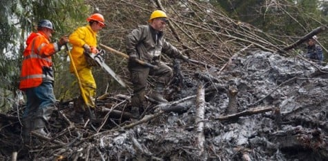 Mudslide devastates rural Washington community for second time in 8 years
