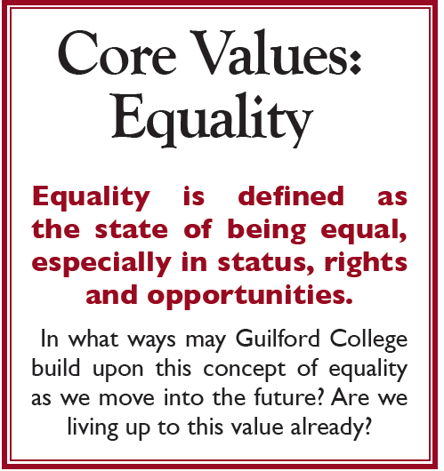 Core Values: Equality