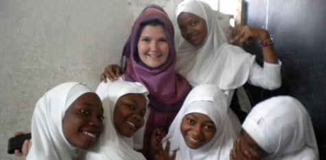 Student ventures abroad, teaches English in Tanzania