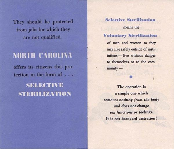 North Carolina compensates victims of eugenic sterilization