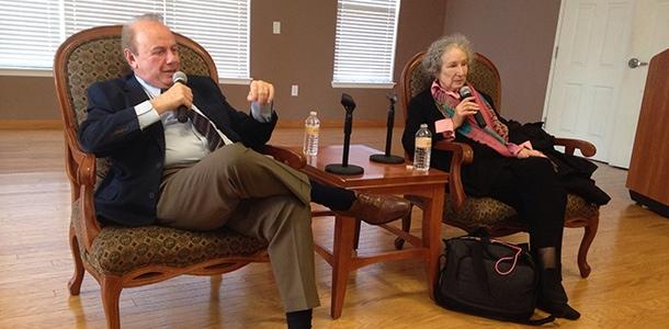 Atwood at Bryan Series: Literary giant leaves audience laughing, wondering and praising