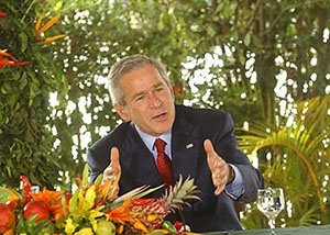 Goofordian: Only George W. Bush can save the US