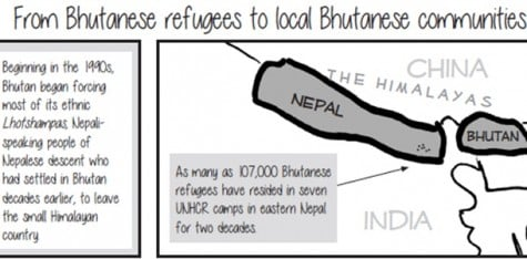 Bhutanese community works for a better life