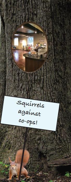 Goofordian: Greenleaf's move into oak tree prompts war