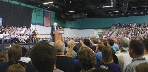 Sanders brings the Bern to Greensboro