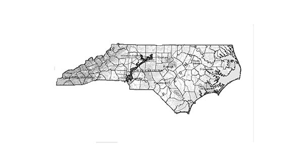Guilford County, which includes Guilford College and the city of Greensboro, is located at the northern end of North Carolina's 12th Congressional district. District 12 and district 1 have both been ruled unconstitutional under the 14th amendment. The districts have been gerrymandered to include a disproportionate amount of people of color, which minimizes the impact of their votes.