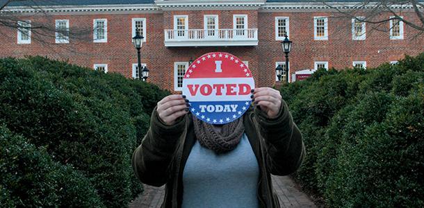 Campus political activity stirs