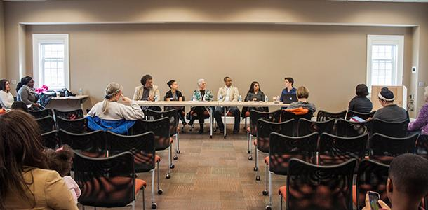 Faculty and staff were present during the last workshop of the All Black Symposium leaving panelists to wonder about student involvement in campus events.