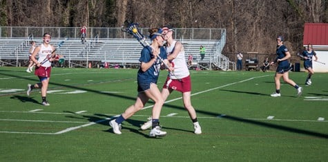 The women's lacrosse team faced Mary Washington in an energetic game this past Sunday.