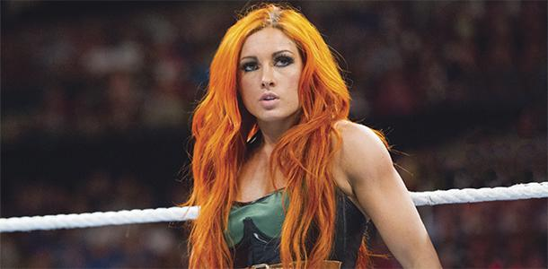 Becky Lynch, a fighter in the WWE NXT subdivision, combats stereotypes of women in the wrestling entertainment industry