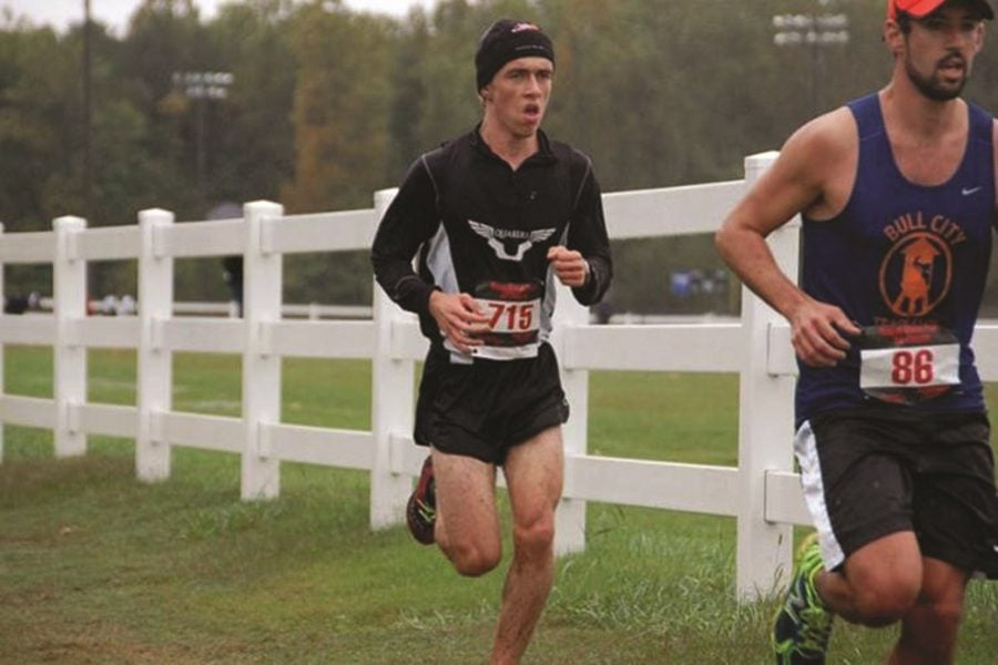 Men's cross country off to a running start