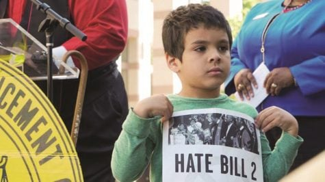 Citizens unite to protest against House Bill 2